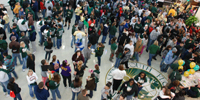 Photo of Students Gathering in the MSC for SOS 2010